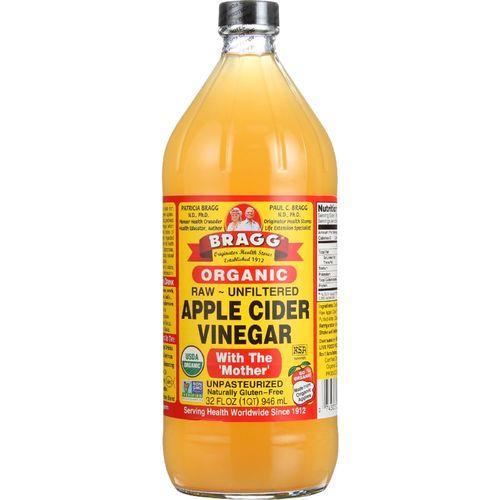 Bragg Apple Cider Vinegar - Organic - Raw - Unfiltered - 32 oz - case of 12