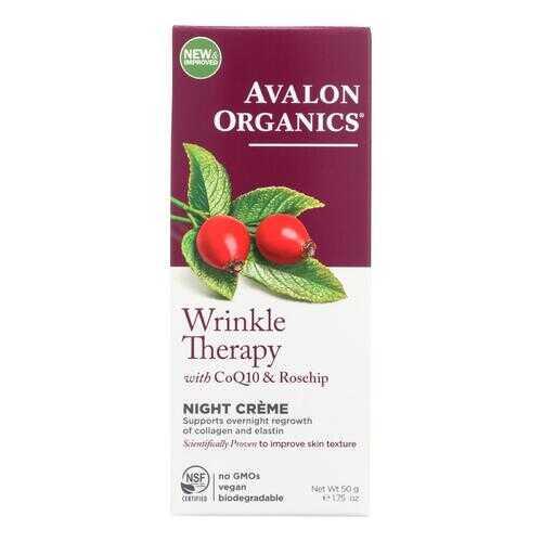 Avalon Organics CoQ10 Wrinkle Defense Night Creme - 1.75 fl oz