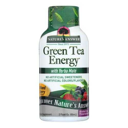 Nature's Answer - Green Tea Energy Display Center Case - Case of 12 - 2 oz