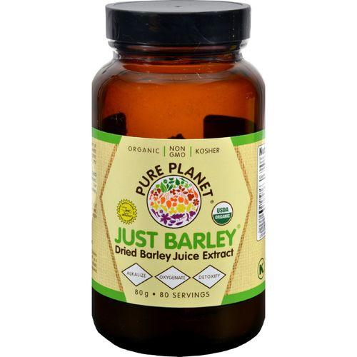 Pure Planet Just Barley Nature's Organic Nutrition Support - 2.8 oz