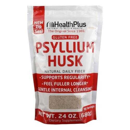 Health Plus - Pure Psyllium Husk - 24 oz