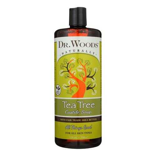 Dr. Woods Shea Vision Pure Castile Soap Tea Tree - 32 fl oz