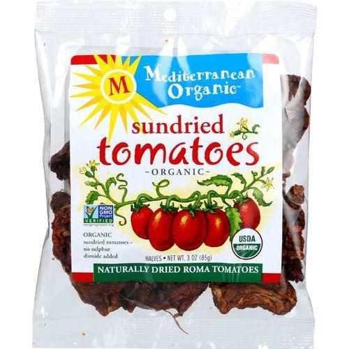 Mediterranean Organic Tomato - Organic - Sundried - in Bag - 3 oz - case of 12