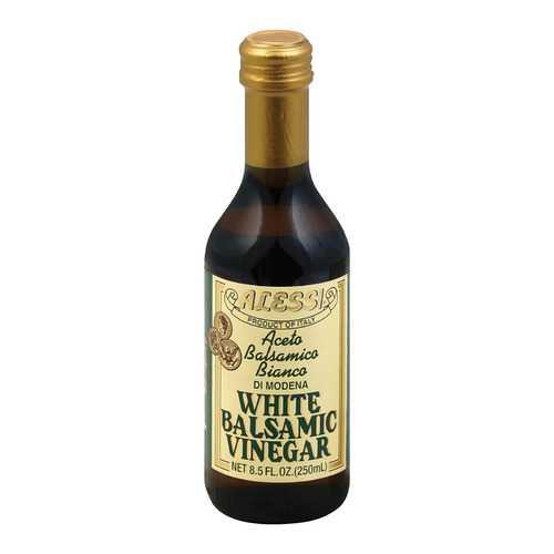Alessi Vinegar - White Balsamic - Case of 6 - 8.5 FL oz.
