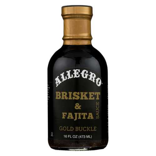 Allegro Gold Buckle Brisket Sauce - Case of 6 - 16 oz