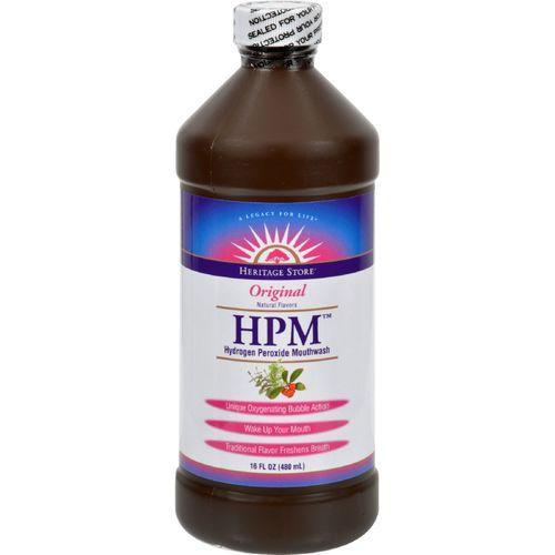 Heritage Products HPM Hydrogen Peroxide Mouthwash - 16 fl oz