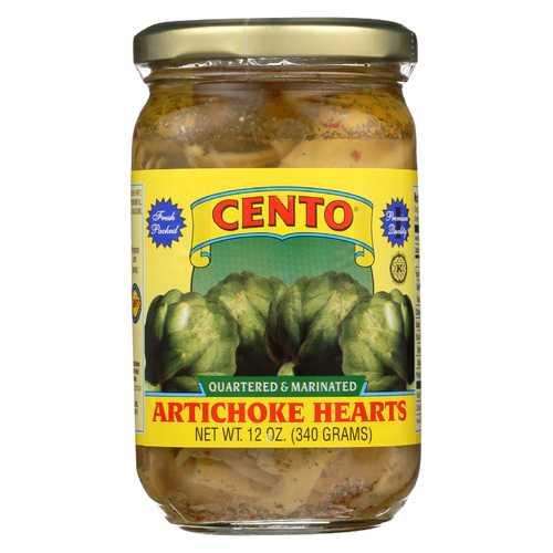 Cento Artichokes - Marinated - Case of 12 - 12 oz