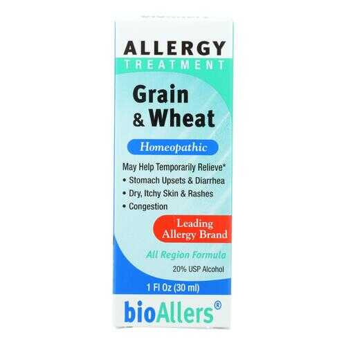 Bio-Allers - Grain and Wheat Allergy Treatment - 1 fl oz