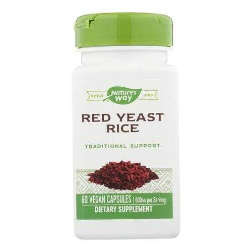 Nature's Way - Red Yeast Rice - 60 Vcaps