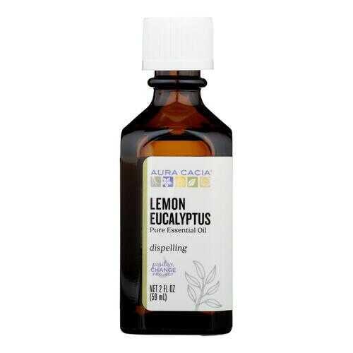 Aura Cacia - Essential Oil Lemon Eucalyptus - 2 fl oz
