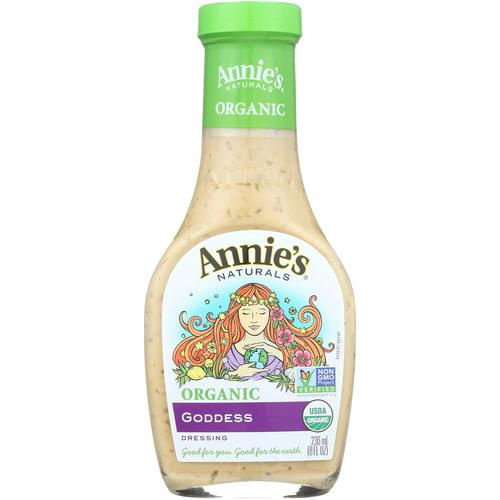 Annie's Naturals Organic Dressing Goddess - Case of 6 - 8 fl oz.