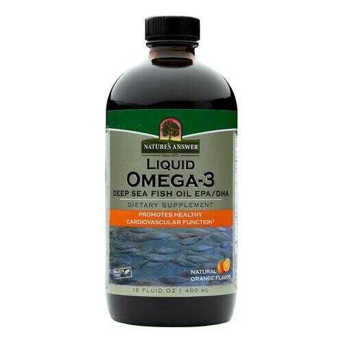 Nature's Answer - Liquid Omega-3 Fish Oil - 16 fl oz