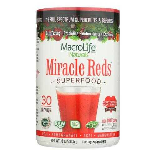 MacroLife Naturals Miracle Reds Berri - 10 oz