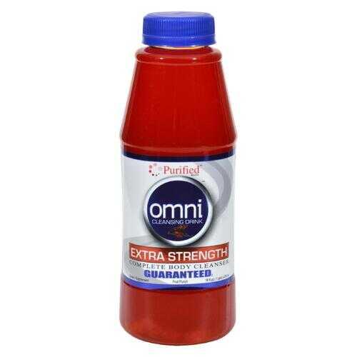 Heaven Sent Omni Cleansing Drink Fruit Punch - 16 fl oz