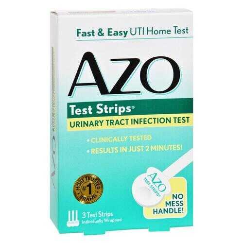 Azo Test Strips - 3 Test Strips