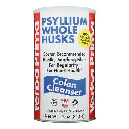 Yerba Prima Psyllium Whole Husks - 12 oz