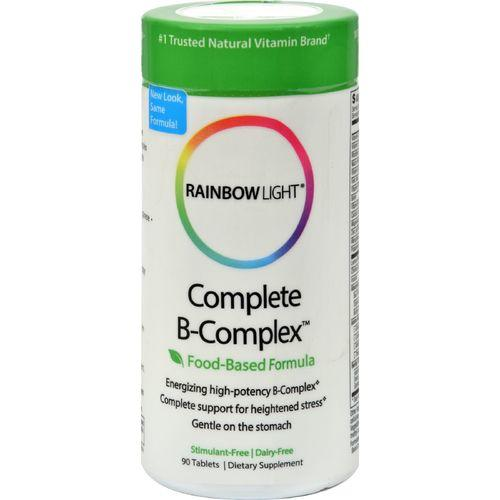 Rainbow Light Complete B-Complex - 90 Tablets