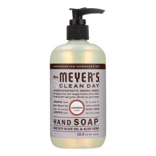 Mrs. Meyer's Clean Day - Liquid Hand Soap - Lavender - Case of 6 - 12.5 oz