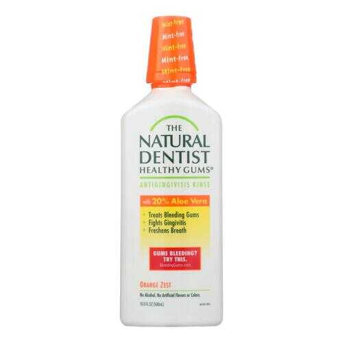 Natural Dentist Daily Healthy Gums Antigingivitis Rinse Orange Zest - 16 fl oz