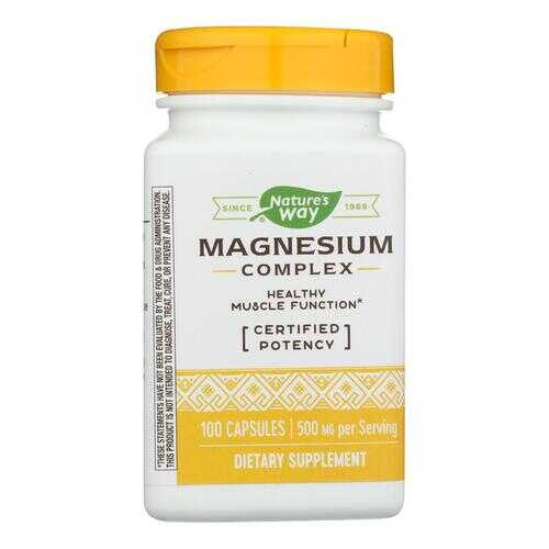 Nature's Way Magnesium Complex - 100 Capsules