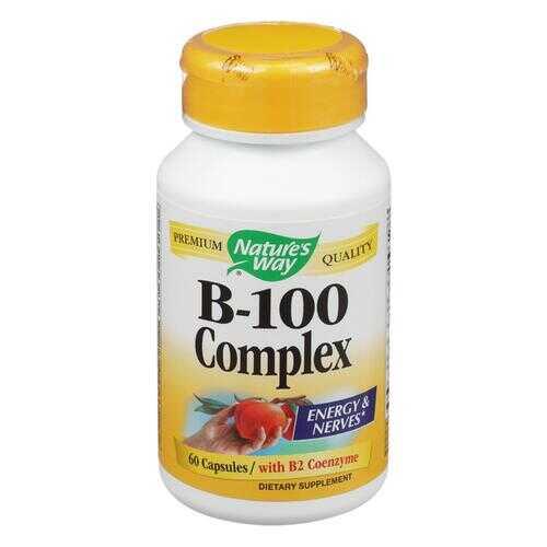 Nature's Way - Vitamin B-100 Complex - 60 Capsules