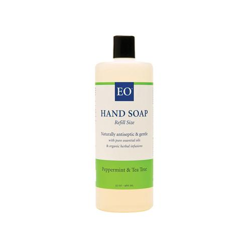 EO Products Liquid Hand Soap Peppermint and Tea Tree - 32 fl oz