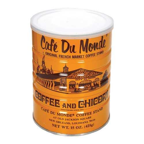 Cafe Du Monde Coffee - Regular - Case of 12 - 15 oz