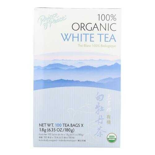 Prince of Peace Organic Premium Peony White Tea - 100 Tea Bags