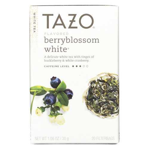 Tazo Tea Tea - White - Case of 6 - 20 BAG