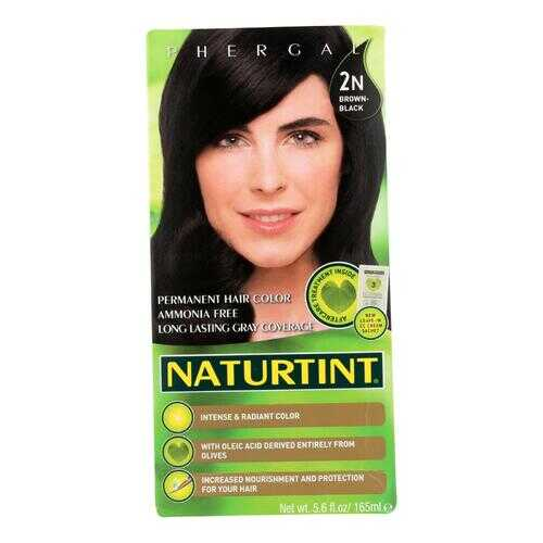 Naturtint Hair Color - Permanent - 2N - Brown Black - 5.28 oz