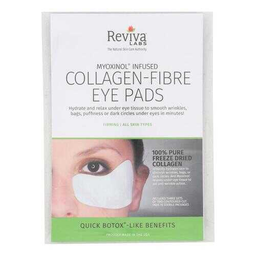 Reviva Labs - Collagen Fiber Contoured Eye Pads - Case of 6 - 3 Sets