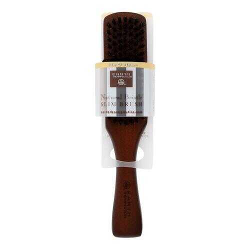 Earth Therapeutics Natural Bristle Slim Brush - 1 Brush