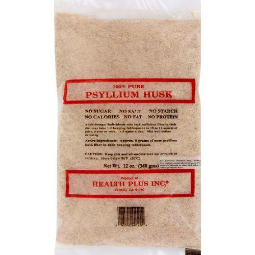 Health Plus - Pure Psyllium Husk - 12 oz