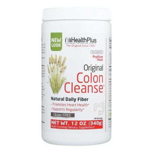 Health Plus The Original Colon Cleanse Plain - 12 oz