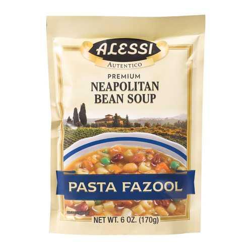 Alessi Neapolitan Bean Soup - Pasta Fazool - Case of 6 - 6 oz.