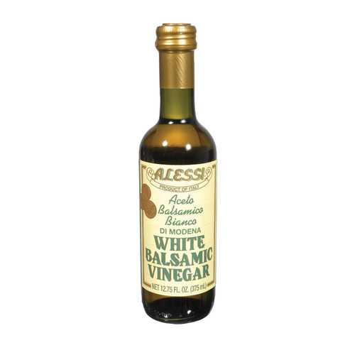 Alessi Vinegar - White Balsamic - Case of 6 - 12.75 FL oz.