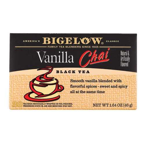 Bigelow Tea Tea - Chai Vanilla - Case of 6 - 20 BAG