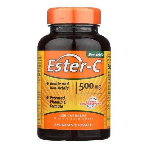 American Health - Ester-C - 500 mg - 120 Capsules
