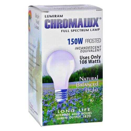 Chromalux Frosted Light Bulb - 150 Watt - 150 Bulb