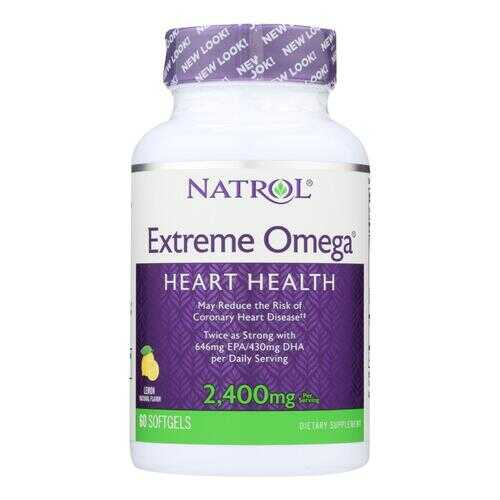Natrol Extreme Omega - 1200 mg - 60 Softgels