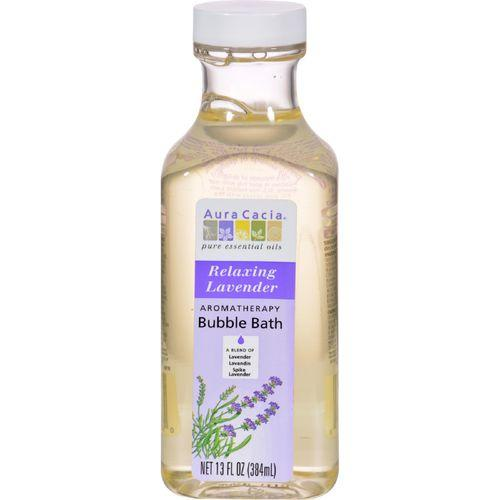 Aura Cacia Aromatherapy Bubble Bath Relaxing Lavender - 13 fl oz