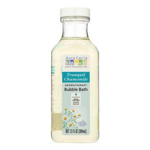 Aura Cacia Aromatherapy Bubble Bath Tranquil Chamomile - 13 fl oz
