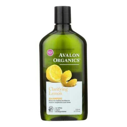 Avalon Organics Clarifying Shampoo Lemon with Shea Butter - 11 fl oz