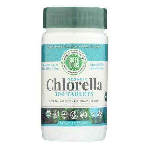 Green Foods Organic Chlorella - 200 mg - 300 Tablets