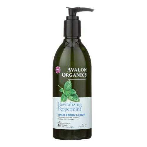 Avalon Organics Hand and Body Lotion Peppermint - 12 fl oz