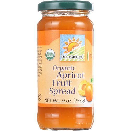 Bionaturae Fruit Spread - Organic - Apricot - 9 oz - case of 12