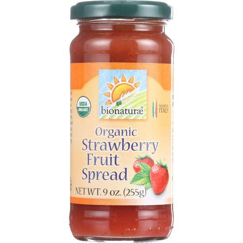 Bionaturae Fruit Spread - Organic - Strawberry - 9 oz - case of 12