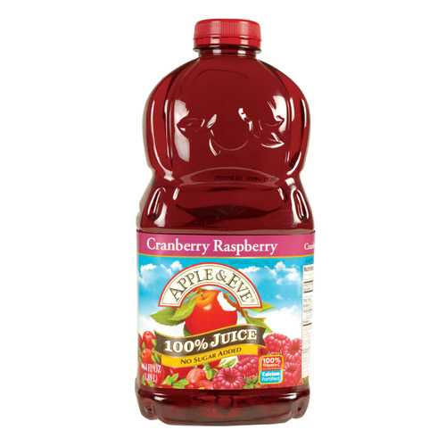 Apple and Eve 100 Percent Juice - Cranberry Juice and More - Case of 8 - 64 Fl oz.