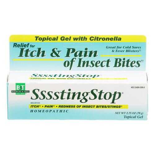 Boericke and Tafel Ssssting Stop Topical Gel - 2.75 oz