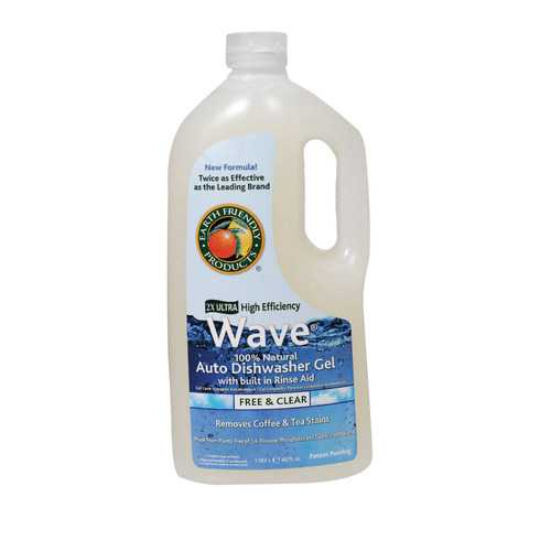 Earth Friendly Free and Clear Auto Dishwasher Gel - Case of 8 - 40 FL oz.